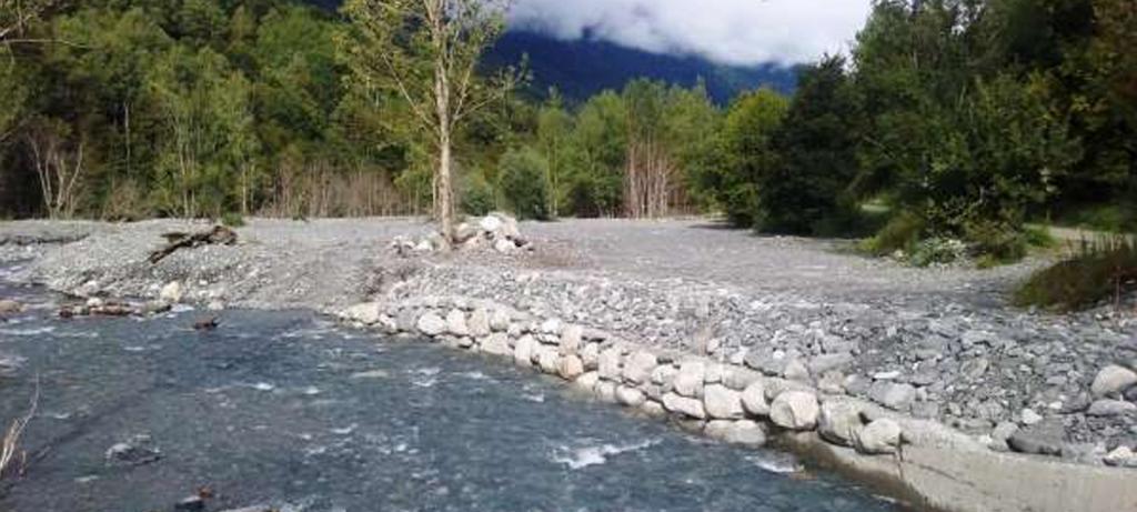 Recuperación del trazado natural del río Joéu en Es Bordes (Lleida)