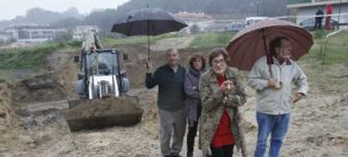 """Paralizadas las obras de la estación de bombeo de Gondomar por """"infracción urbanística grave"""""""
