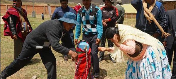 Agua potable en Bolivia, gracias a la cooperación española