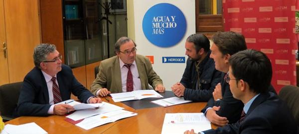 Aguas de Murcia subvenciona la Cátedra del Agua y Sostenibilidad de la UMU