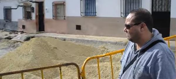 Aqualia trabaja en una fuga de agua en Jaén
