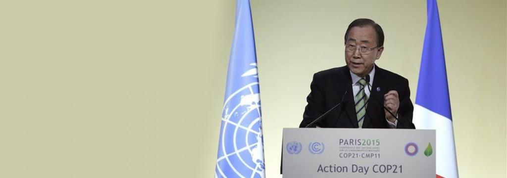 """Ban Ki Moon advierte a los ministros que """"No valen medias tintas"""" contra el calentamiento global"""