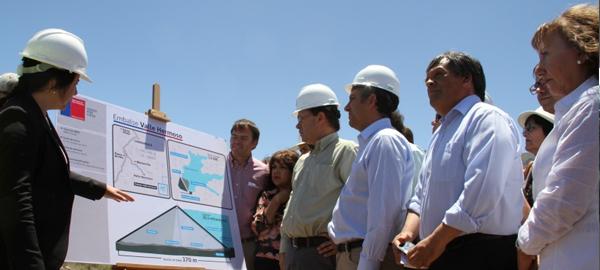 Comienza la construcción del embalse de Valle Hermoso en Chile