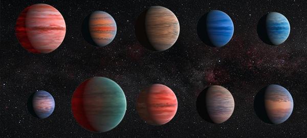Detectan agua en exoplanetas