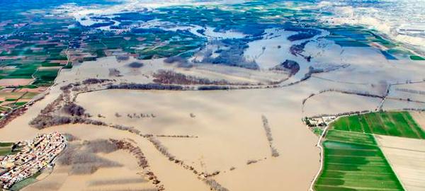 La Confederación Hidrográfica del Ebro anuncia obras para evitar inundaciones