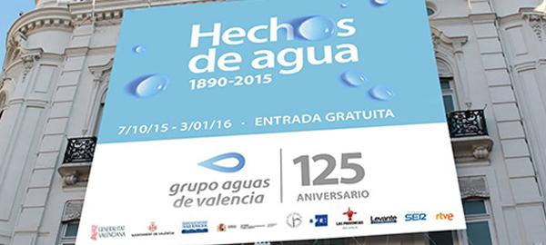 La exposición de Aguas de Valencia ofrece un especial del Plan Sur y de la recuperación del viejo cauce del Turia