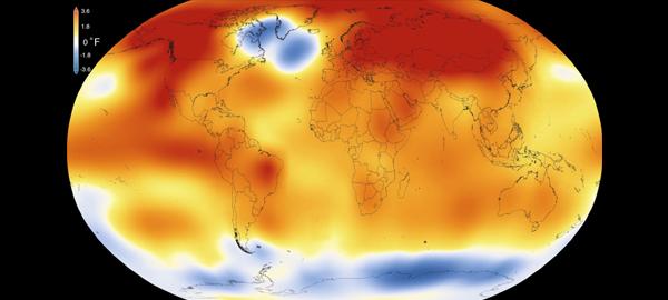 2015, el año más cálido desde que se registran temperaturas