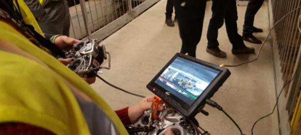 Aguas de Alicante innova con un proyecto para mejorar la salud de los trabajadores en las inspecciones