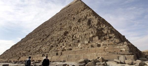 Descubiertas partículas de energía en el interior de la pirámide de Keops