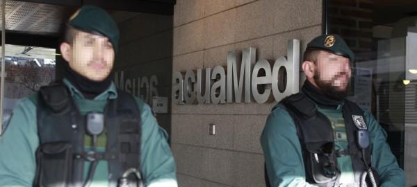 Dos directivos de Acuamed entran en prisión sin fianza