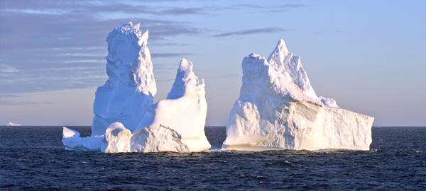 El agua de los icebergs captura el CO2 acumulado en el océano
