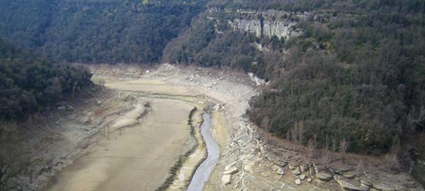 La Generalitat alerta del peligro del suministro de agua, en caso de sequía