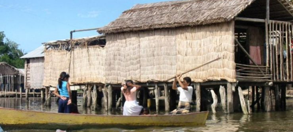 La comunidad indígena reclama agua potable
