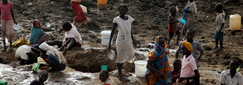 Más de 750 millones de personas no tienen acceso a una fuente de agua segura