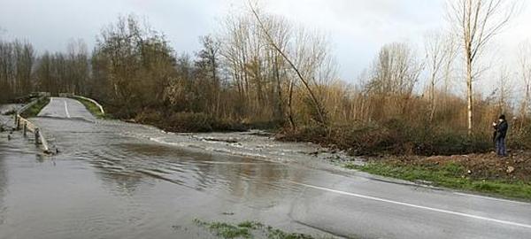 Trece ríos superan el estado de alarma por el agua de las lluvias del fin de semana