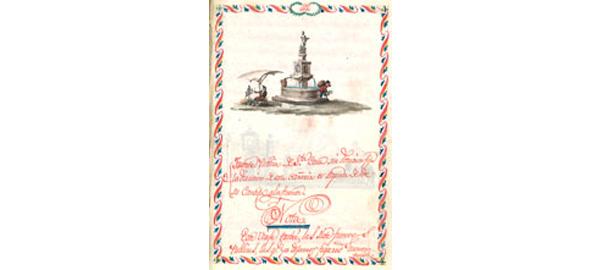 Un importante manuscrito sobre la distribución de aguas de Madrid llega a la Biblioteca Nacional