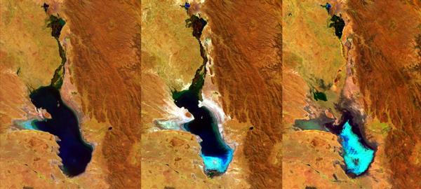Desaparece un lago en Bolivia por evaporación