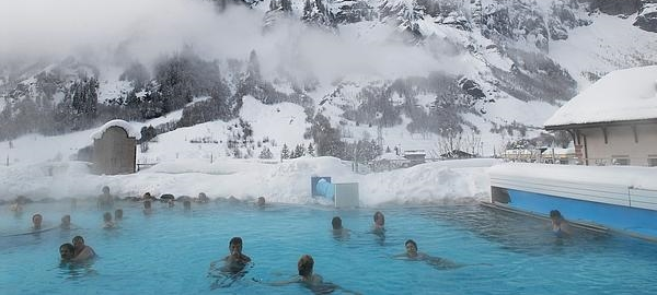 Descubre el balneario más grande de los Alpes