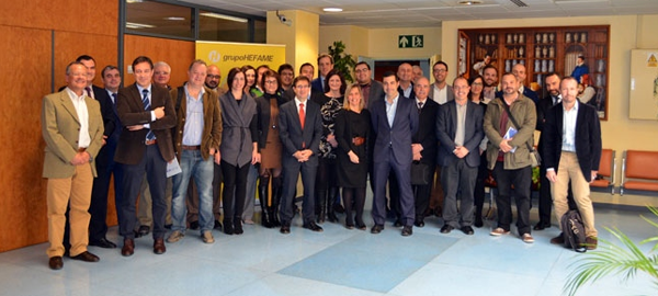 Hidrogea, Hefame y Regenera reúnen a más de 30 empresas en el clúster de smart cities