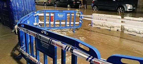 Valladolid arregla una fuga que dejó sin agua a 200 vecinos
