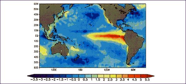 """""""El Niño"""" aumenta los niveles de CO2 en la atmósfera"""