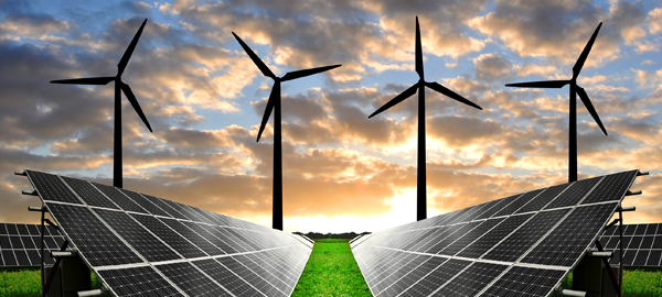 Casi el 55% de la electricidad de febrero, generada por energías renovables