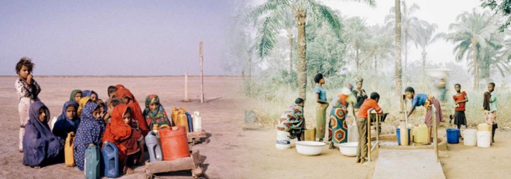 Diez fotografías que muestran la historia del agua en el mundo