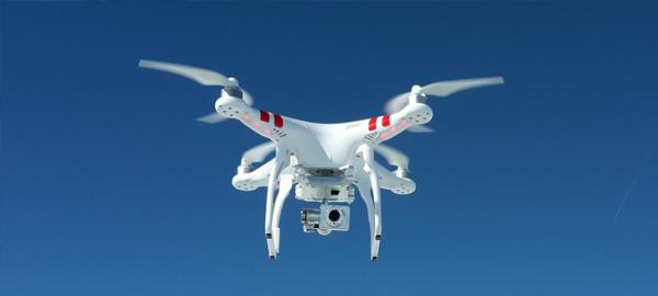 El uso de drones permitirá ahorrar agua