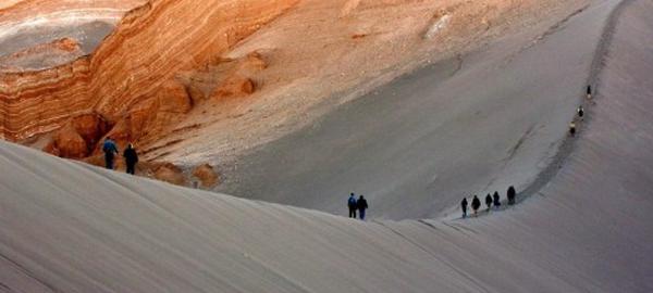 Estudian el ecosistema de Marte en el lugar más seco de la tierra