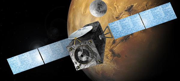 La Agencia Espacial Europea envía un satélite al planeta rojo para investigar el entorno del planeta
