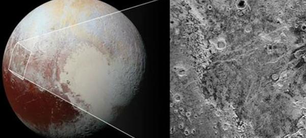 Se descubre una capa de hielo en Plutón