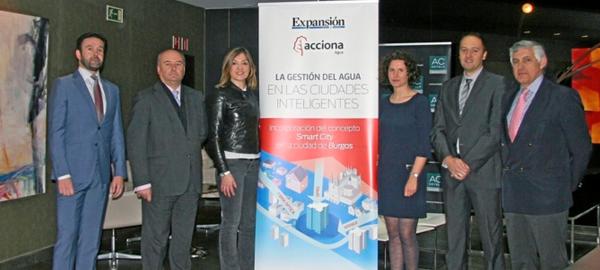 Burgos inicia el camino hacia la gestión inteligente del agua