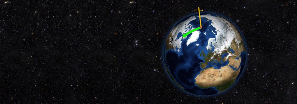El deshielo de los polos está desplazando el eje de rotación de la Tierra