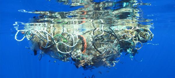 En diez años, las corrientes marinas transportan la basura a cualquier lugar del mundo