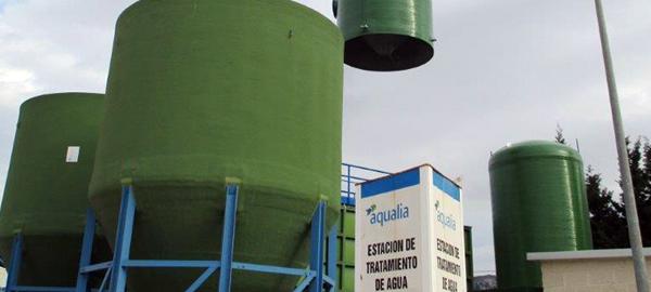 Aqualia realiza mejoras en la potabilizadora de Beniadlà de Denia