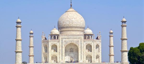 Los desechos de insectos dañan el Taj Mahal
