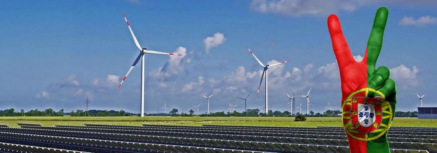 Portugal funciona cuatro días sólo con energías renovables