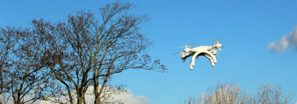 Primeras pruebas experimentales de drones que provocan lluvia