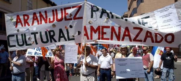 Aranjuez se opone al trasvase Tajo-Segura