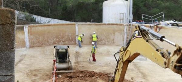 Una avería en la desaladora de Ses Eres deja sin agua a 6.000 personas