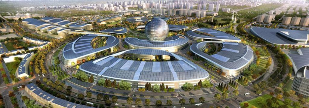 Una ciudad eco futurista, escenario de la Expo 2017