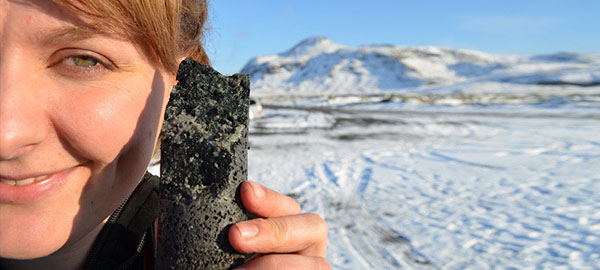 Carbfix, un experimento que convierte el dióxido de carbono en piedra