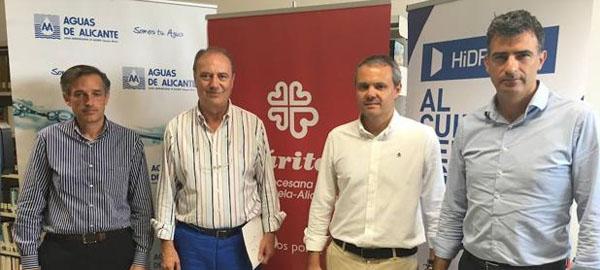 Hidraqua colabora con la alimentación de 800 familias sin recursos en Alicante
