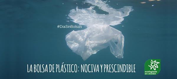 Los supermercados españoles no apoyan el Día Internacional Libre de Bolsas de Plástico