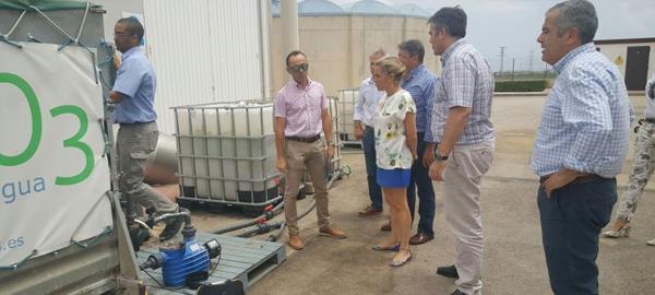 Un proyecto piloto que elimina los nitratos del agua