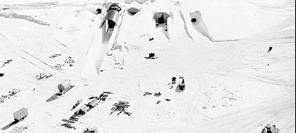 El cambio climático descubrirá una base militar tóxica en Groenlandia