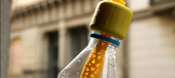 FairCap, un tapón potabilizador de agua