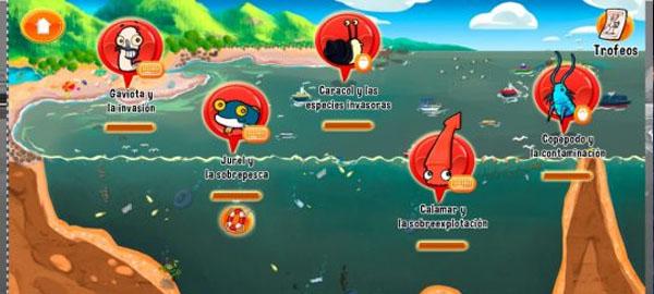 Un videojuego chileno para promover la conservación marina