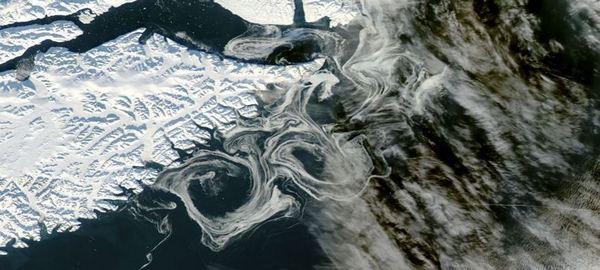 La mayor parte de Groenlandia está descongelada bajo la capa de hielo