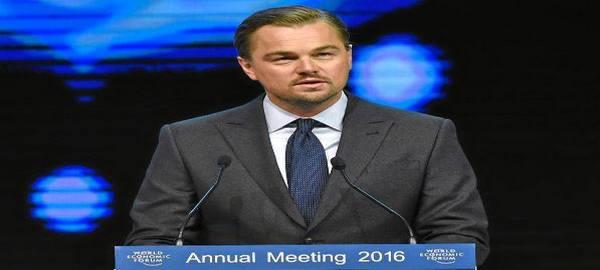 Leonardo DiCaprio vuelve a concienciar al mundo sobre el cambio climático